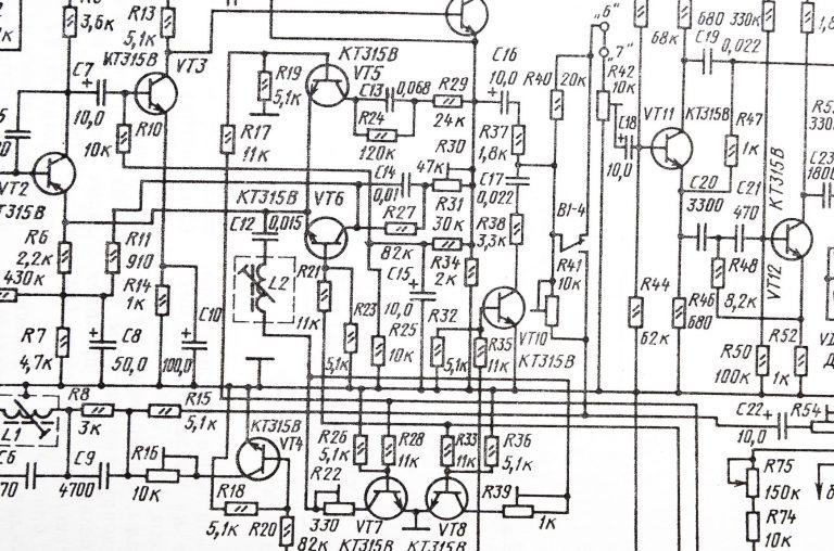 Schema elektrische installatie