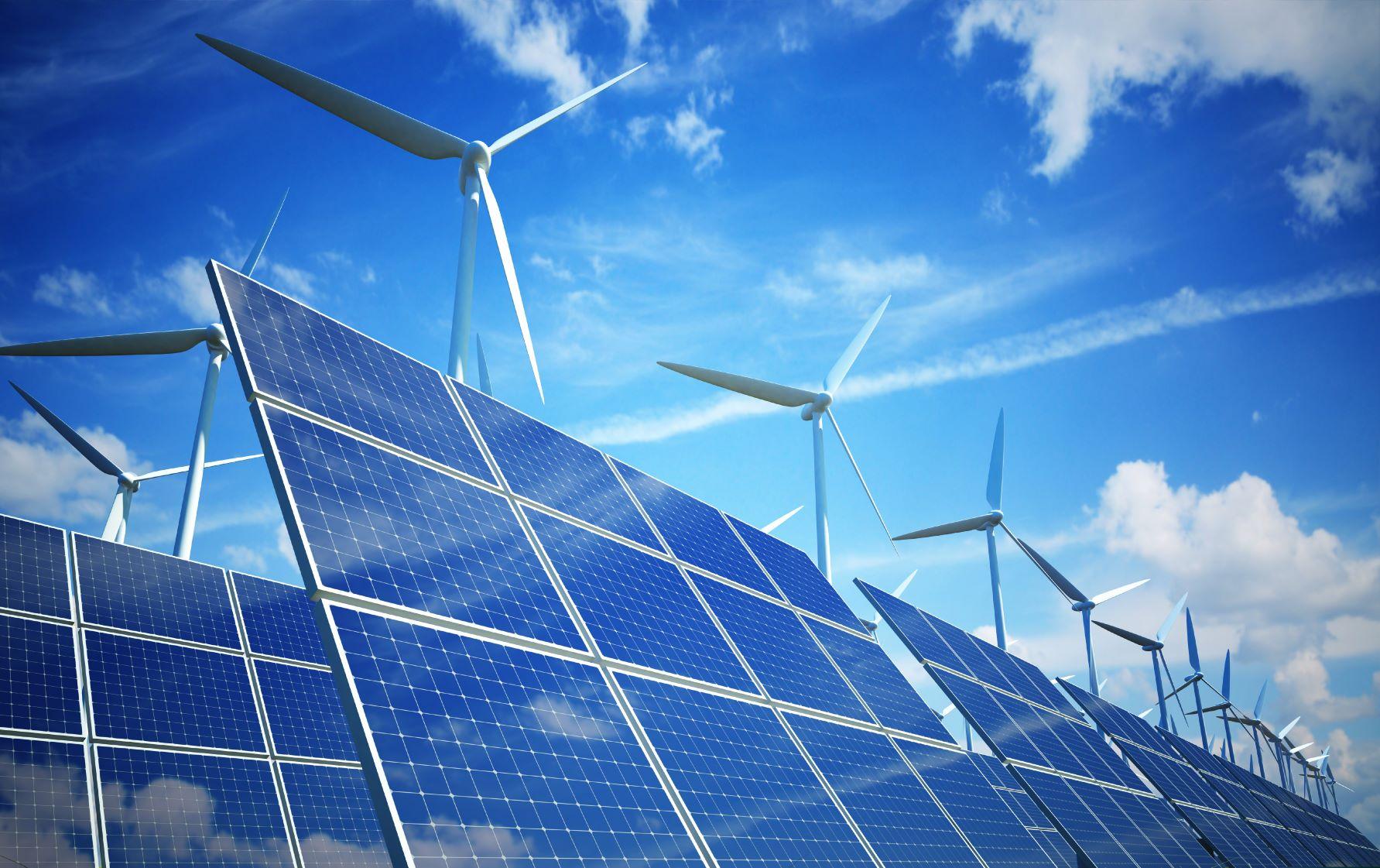 zonne- en windenergie